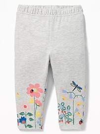 Floral-Print Leggings for Baby