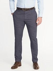 Pantalon Signature sport habillé avec extensibilité intégré sans repassage pour homme