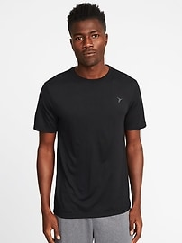 Go-Dry Regular-Fit Tee for Men