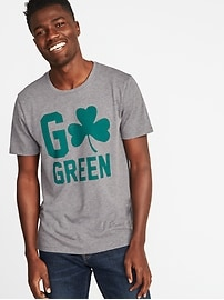 St. Patrick's Day Graphic Tee for Men