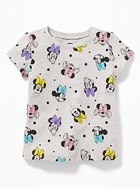 Disney&#169 Minnie Mouse Print Tee for Toddler Girls