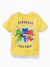 T-shirt «Stronger Together» de PJ Masks pour tout-petit garçon