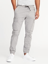 Slim Dry-Quick Built-In Flex Cargo Joggers for Men