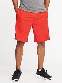 """Go-Dry Performance Shorts for Men (10"""")"""