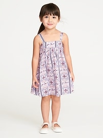 Printed Sundress for Toddler Girls