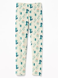 Printed Long Leggings for Girls