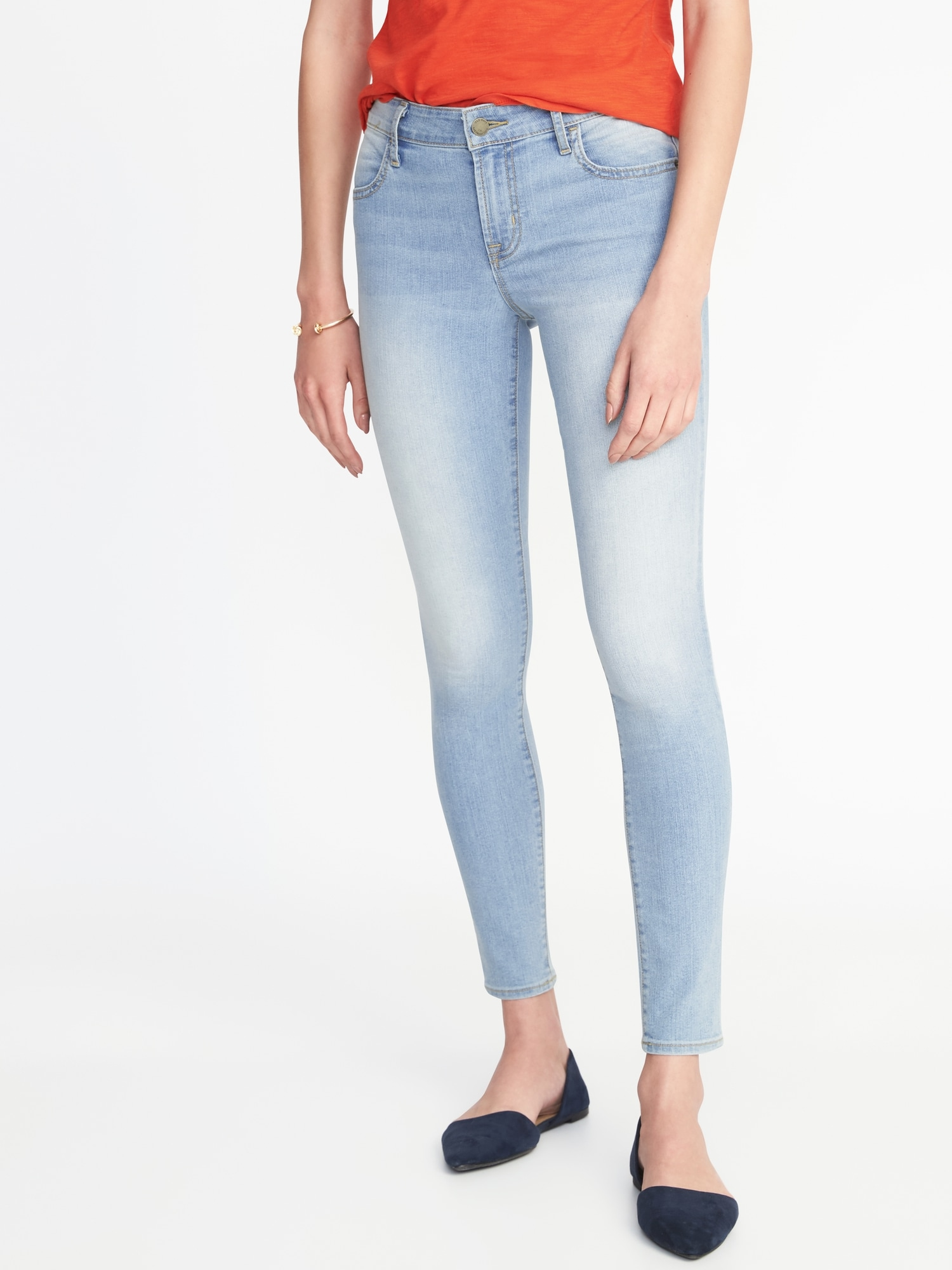 27ab934c5a8 Mid-Rise Super-Skinny Ankle Jeans for Women | Old Navy