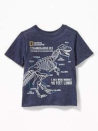 National Geographic™ Dinosaur-Graphic Tee for Baby