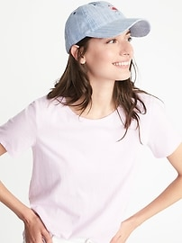 Graphic Baseball Cap for Women