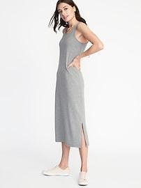 Sleeveless Jersey Midi Dress for Women