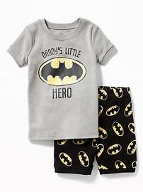 Pyjama Batman DC ComicsMC pour tout-petit et bébé