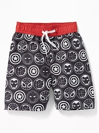 Marvel Comics&#153 Super Heroes Swim Trunks for Toddler Boys