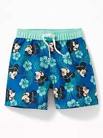 Disney&#169 Mickey Mouse Swim Trunks for Toddler Boys