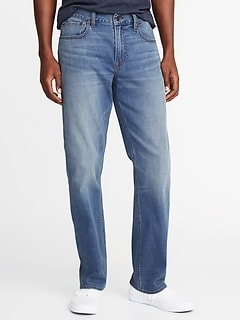 Straight Built-In Flex Jeans For Men