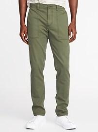 Relaxed Slim Built-In Flex Utility Pants for Men