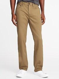 Straight All-Temp Built-In Flex Five-Pocket Pants for Men