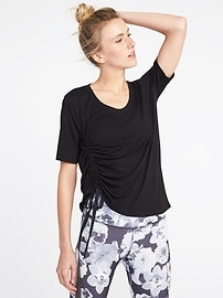 Relaxed Side-Tie Top for Women