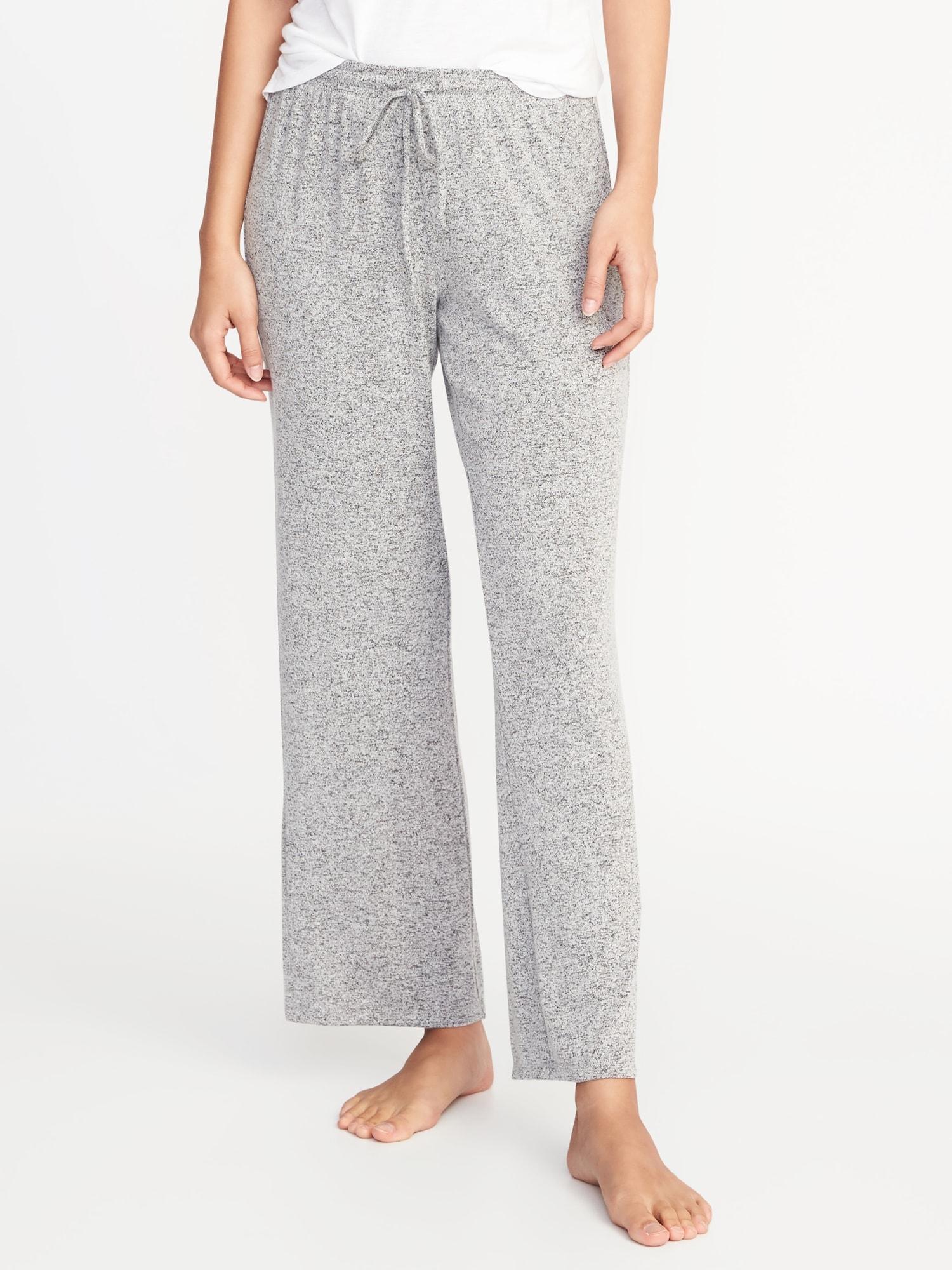 4d9dc2ec64e Plush-Knit Lounge Pants for Women