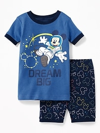 "Disney&#169 Mickey Mouse ""Dream Big"" Sleep Set for Toddler & Baby"
