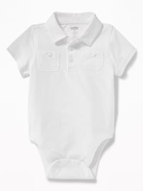 Polo cache-couche à poche pour bébé