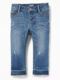 Distressed Skinny Jeans for Toddler Girls