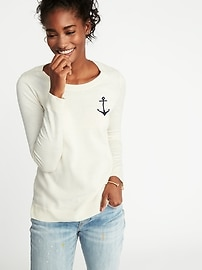 Classic Crew-Neck Sweater for Women