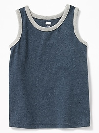 Solid Jersey Tank for Toddler Boys