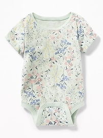 Printed Jersey Bodysuit for Baby