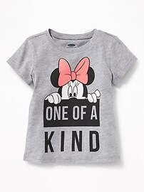 "Disney&#169 Minnie Mouse ""One of A Kind"" Tee for Toddler Girls"