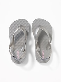Solid Flip-Flops for Toddler Girls