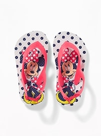 Disney&#169 Minnie Mouse Flip-Flops for Toddler Girls