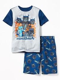 2-Piece Minecraft&#153 Sleep Set for Boys