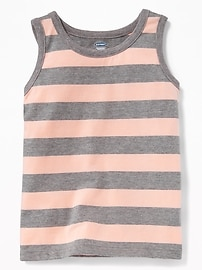 Striped Tank for Toddler Boys