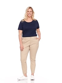 3f0b01b4e6d Secret-Slim Pockets Plus-Size Everyday Skinny Khakis