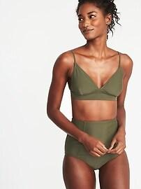 Haut de bikini triangle pour femme