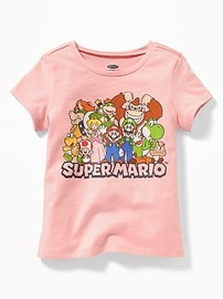 Nintendo&#174 Super Mario Graphic Tee for Toddler Girls