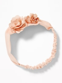 Soft Rosette Headband for Baby