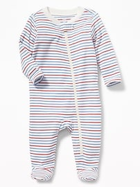 Footed Jersey One-Piece for Baby