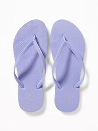 Classic Pastel-Color Flip-Flops for Women