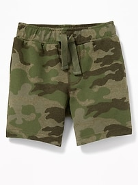 Printed French-Terry Shorts for Toddler Boys