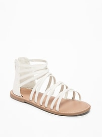 Strappy Gladiator Sandals for Girls