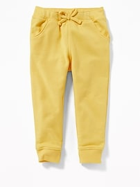 French Terry Joggers for Toddler Girls