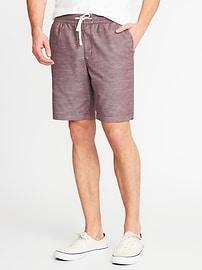 "Built-In Flex Drawstring Jogger Shorts for Men (9"")"