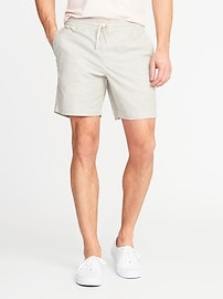 "Drawstring Jogger Shorts for Men (7"")"