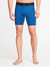 "Go-Dry Base Layer Shorts for Men (8"")"