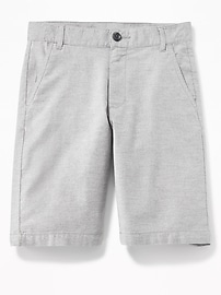Straight Built-In Flex Flat-Front Shorts for Boys