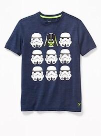 T-shirt Go-Dry Performance à imprimé Star WarsMC pour garçon