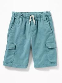 Built-In Flex Jogger Cargo Shorts for Boys