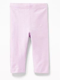 Jersey Capri Leggings for Toddler Girls