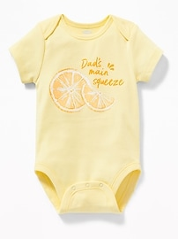 Graphic Jersey Bodysuit for Baby